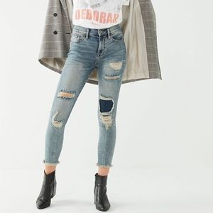 BDG urban outfitters high rise skinny jeans